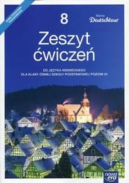 okładka Meine Deutschtour 8 Język niemiecki Zeszyt ćwiczeń Szkoła podstawowa, Książka   Kosacka Małgorzata