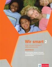 okładka Wir smart 2 Język niemiecki dla klasy 5 Zeszyt ćwiczeń rozszerzony + CD Szkoła podstawowa, Książka   Ewa Książek-Kempa, Aleksandra Kubicka, Olga Młynarska