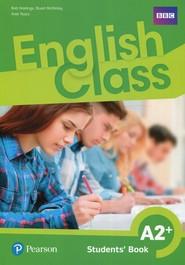 okładka English Class A2+ Podręcznik wieloletni Szkoła podstawowa, Książka   Bob Hastings, Stuart McKinlay, Arek Tkacz