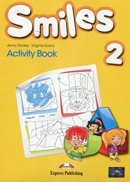 okładka Smiles 2 Activity Book, Książka | Jenny Dooley, Virginia Evans