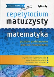 okładka Repetytorium maturzysty Matematyka Poziom podstawowy Poziom rozszerzony, Książka | Robert Całka, Ewa Gałęska