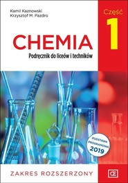 okładka Chemia 1 Podręcznik Zakres rozszerzony Szkoła ponadpodstawowa, Książka | Kamil Kaznowski, Krzysztof M. Pazdro