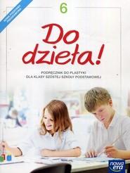 okładka Do dzieła! Plastyka 6 Podręcznik Szkoła podstawowa, Książka   Jadwiga Lukas, Krystyna Onak