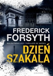 okładka Dzień szakala, Książka | Forsyth Frederick