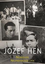 okładka Nowolipie Najpiękniejsze lata, Książka | Józef Hen