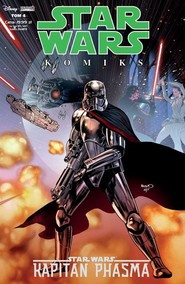 okładka Star Wars Kapitan Phasma 4/19, Książka   Kelly Thompson, Robert Thompson, Ben Acker, Ben Blacker