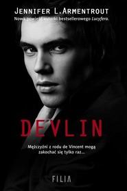 okładka Devlin, Książka | Jennifer L. Armentrout