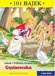 okładka Gęsiareczka 101 bajek, Książka | i Wilhelm Grimm Jakub