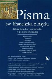 okładka Pisma św Franciszka z Asyżu z płytą CD, Książka |