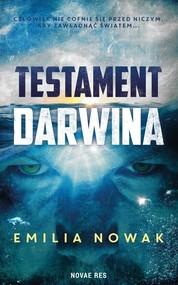 okładka Testament Darwina, Książka | Emilia  Nowak