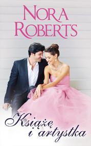 okładka Książę i artystka, Książka | Nora Roberts