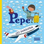 okładka Pepe leci samolotem, Książka   Garhamn Anna-Karin