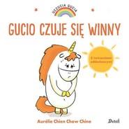 okładka Uczucia Gucia Gucio czuje sie winny, Książka | Aurelie Chine, Chow Chien