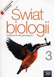 okładka Świat biologii 3 Podręcznik Gimnazjum, Książka | Małgorzata Kłyś, Andrzej Kornaś, Ryszkiewicz Marcin