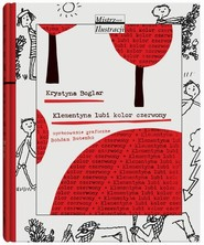 okładka Klementyna lubi kolor czerwony, Książka | Boglar Krystyna