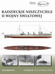 okładka Radzieckie niszczyciele II wojny światowej, Książka | Alexander Hill