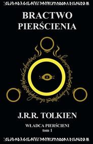 okładka Władca Pierścieni Tom 1 Bractwo Pierścienia, Książka | J.R.R.  Tolkien