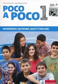 okładka Poco a Poco 1 Sprawności językowe Zeszyt ćwiczeń, Książka | Maria Letizia Galli, Maria Signo Fuentes