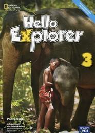okładka Hello Explorer 3 Podręcznik + 2CD Szkoła podstawowa, Książka | Jennifer Heath, Rebecca Adlard, Dorota Sikora-Banasik