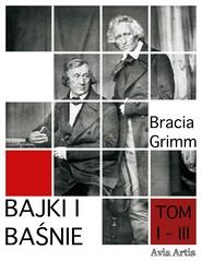 okładka Bajki i Baśnie tom I - III, Ebook | Bracia Grimm