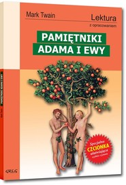 okładka Pamiętniki Adama i Ewy Lektura z opracowaniem, Książka | Mark Twain