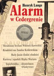 okładka Alarm w Cedergrenie, Książka   Lange Henryk
