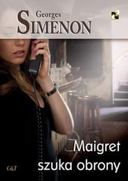 okładka Maigret szuka obrony, Książka   Georges Simenon