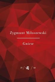 okładka Gniew, Książka | Zygmunt Miłoszewski