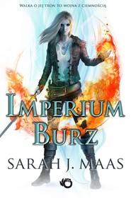 okładka Imperium burz, Książka   Sarah J. Maas