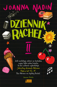 okładka Dziennik Rachel Męki dorastania, Książka   Joanna Nadin