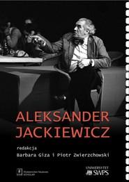 okładka Aleksander Jackiewicz, Książka  