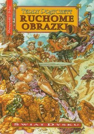 okładka Ruchome obrazki, Książka | Terry Pratchett