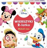 okładka Wierszyki 2-latka Wokół nas HOPS-1, Książka | Urszula Kozłowska