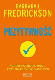 okładka Pozytywność, Książka | Barbara L. Fredrickson
