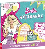 okładka Barbie Wycinanki, Książka |