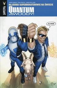 okładka Quantum and Woody 1 Najgorsi superbohaterowie na świecie, Książka | Asmus James