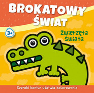 okładka Brokatowy świat Zwierzęta świata., Książka | Agnieszka Michalska