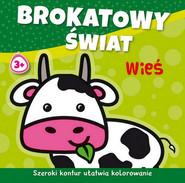 okładka Brokatowy świat Wieś, Książka | Agnieszka Michalska