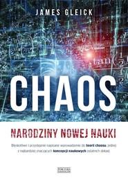 okładka Chaos Narodziny nowej nauki, Książka   James Gleick