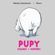 okładka Pupy ogonki i kuperki, Książka  