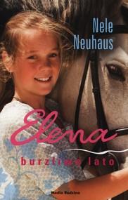 okładka Elena. Burzliwe lato, Książka | Nele Neuhaus