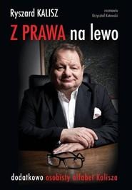 okładka Z prawa na lewo osobisty alfabet Kalisza, Książka | Ryszard Kalisz, Krzysztof Kotowski