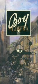 okładka Słówka, Książka   Tadeusz Boy-Żeleński