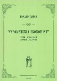 okładka Wspomnienia ekonomisty, Książka   Taylor Edward