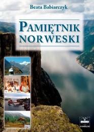 okładka Pamiętnik norweski, Książka   Babiarczyk Beata