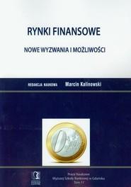 okładka Rynki finansowe Nowe wyzwania i możliwości Prace Naukowe Wyższej Szkoły Bankowej w Gdańsku Tom 11, Książka |