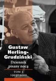 okładka Dziennik pisany nocą Tom 3 1993-2000, Książka | Herling-Grudziński Gustaw