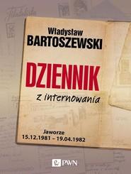 okładka Dziennik z internowania, Książka | Władysław Bartoszewski