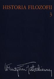 okładka Historia filozofii Tom 3 Filozofia XIX wieku i współczesna, Książka | Władysław  Tatarkiewicz