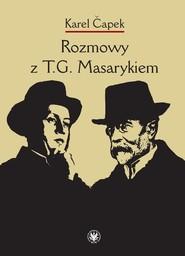 okładka Rozmowy z T.G. Masarykiem, Książka | Karel Čapek
